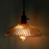 Подвесной светильник Loft Industrial Glass lamp 40.076 Loft-Concept