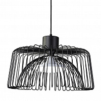 Подвесной светильник Cage Wire Color Pendant Black Loft Concept 40.1704