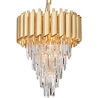 Empire Gold Chandelier Crystal D 50