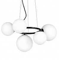 Люстра Bubbles on Ring Chandelier Black