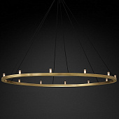 Люстра Restoration Hardware Rennes Round 60 Lacquered Burnished Brass