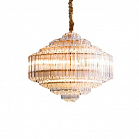 Люстра подвесная LED7 Future Lighting Loft Industry Modern - Vittoria Cascade Chandelier