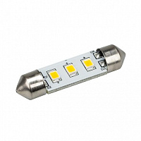 Автолампа ARL-F37-3E Warm White (10-30V, 3 LED 2835) Arlight 019430