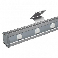 Светодиодный прожектор AR-LINE-1000L-48W-24V RGB-Day4000 (Grey, 15x45 deg, DMX512) Arlight 027282
