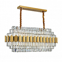 Люстра подвесная LED7 Future Lighting Ritz - OdeonLux 21 Rectangular Chandelier
