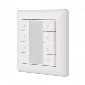 Панель Knob SR-KN9550K8-UP White (KNX, DIM) Arlight 021370