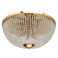 Потолочный светильник Virginia Clear Beads ceiling Gold L 48.203-1 Loft-Concept