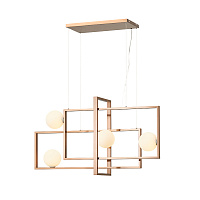 Подвесной светильник Loft Industry Modern - Meet Square Chandelier