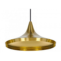 Cветильник Beat Light Wide by Tom Dixon Gold TD20964