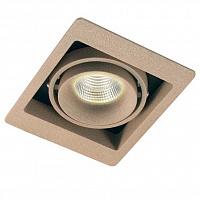 Встраиваемый светильник Donolux DL18615/02WW-SQ Shiny black/Black