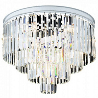 Потолочный светильник RH Odeon Clear Glass ceiling chandelier 4 Square 48.164 Loft-Concept