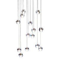 Люстра Bocci 14.14 Fourteen Round Pendant Chandelier by Omer Arbel BC20206