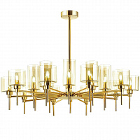 Люстра AXO Light Spillray Gold Lamps 20