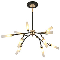 Люстра White Tube Valley Arredoluce Chandelier 12 40.2924-3 Loft-Concept