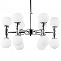 Люстра Ball Valley Chandelier Chromium 12