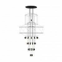 Люстра подвесная LED7 Future Lighting Vibia - Wireflow 0374