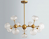 Подвесной светильник Loft Industry Modern - Double Glass Chandelier