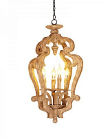 Люстра Loft Lights Vintage Wood Chandelier RH21614