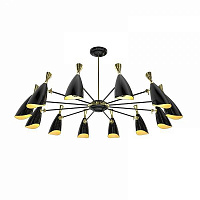 Delightfull Duke 12 Round Black люстра DL20294