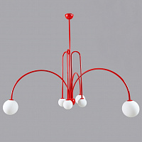 Люстра Fontana Amorosa Gran Finale Red designed by Michael Anastassiades