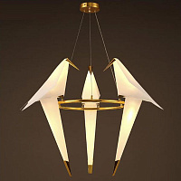 Люстра подвесная Moooi Perch Light Branch Round Trio MP20849
