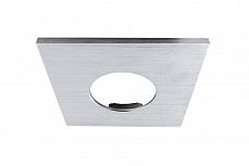 Рамка Deko-Light Cover silver brushed square for COB 68 IP65 + Mizar II 930100