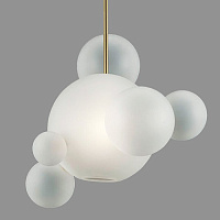 Подвесной светильник GIOPATO & COOMBES BOLLE BLS LAMP white glass 6 40.2213 Loft-Concept