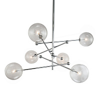 Подвесной светильник Delight Collection Globe Mobile KG0835P-6 chrome