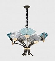 Подвесная люстра Loft Industry Modern - Fan Chandelier