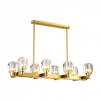 Люстра подвесная LED7 Future Lighting Loft Industry Modern - Glass Bob Line Chandelier
