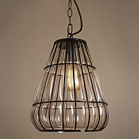 Подвесной светильник Metal Mesh and Glass Pendant III Loft Concept 40.986