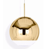 Светильник Mirror Ball Gold by Tom Dixon D35 TD21070