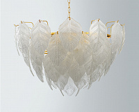 Подвесная люстра Loft Industry Modern - Glass Feathers Chandelier