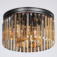 Потолочный светильник ODEON Amber GLASS Prism Round 2-TIER 40 см 48.226-2 Loft-Concept