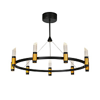 Люстра Delight Collection MD18001040 MD18001040-9A black/gold