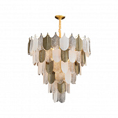 Светильник подвесной LED7 Future Lighting Loft Industry Modern - Feather Leaves Chandelier